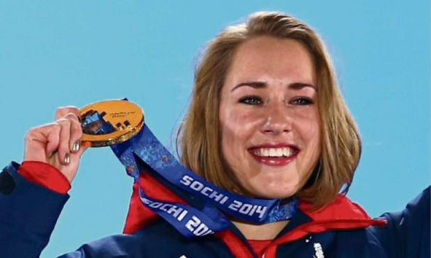 Stroud News and Journal: Lizzy Yarnold is poster girl for Girls4Gold programme