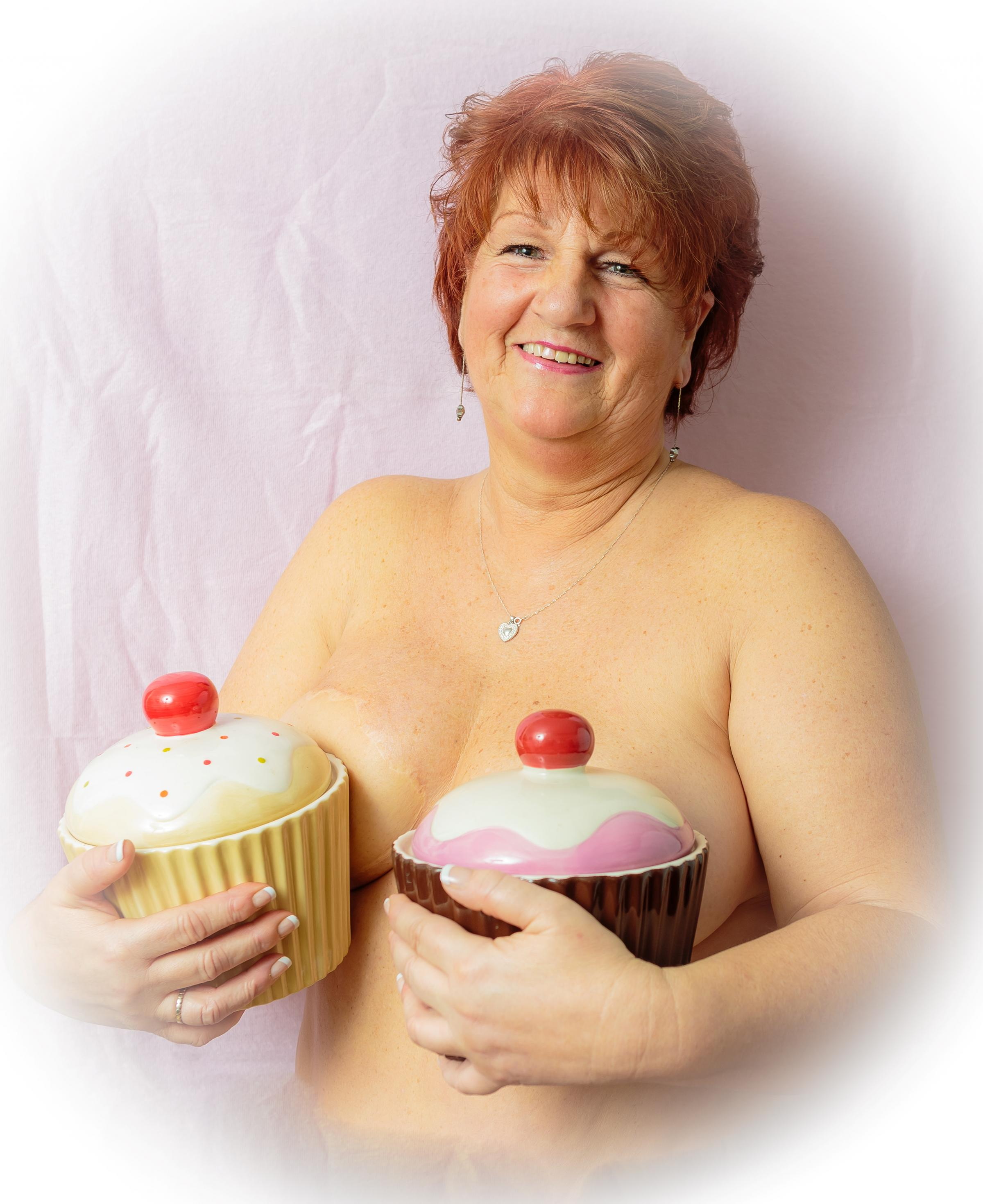 Breast cancer survivor Jacky organises a national Booby Cupcake Week