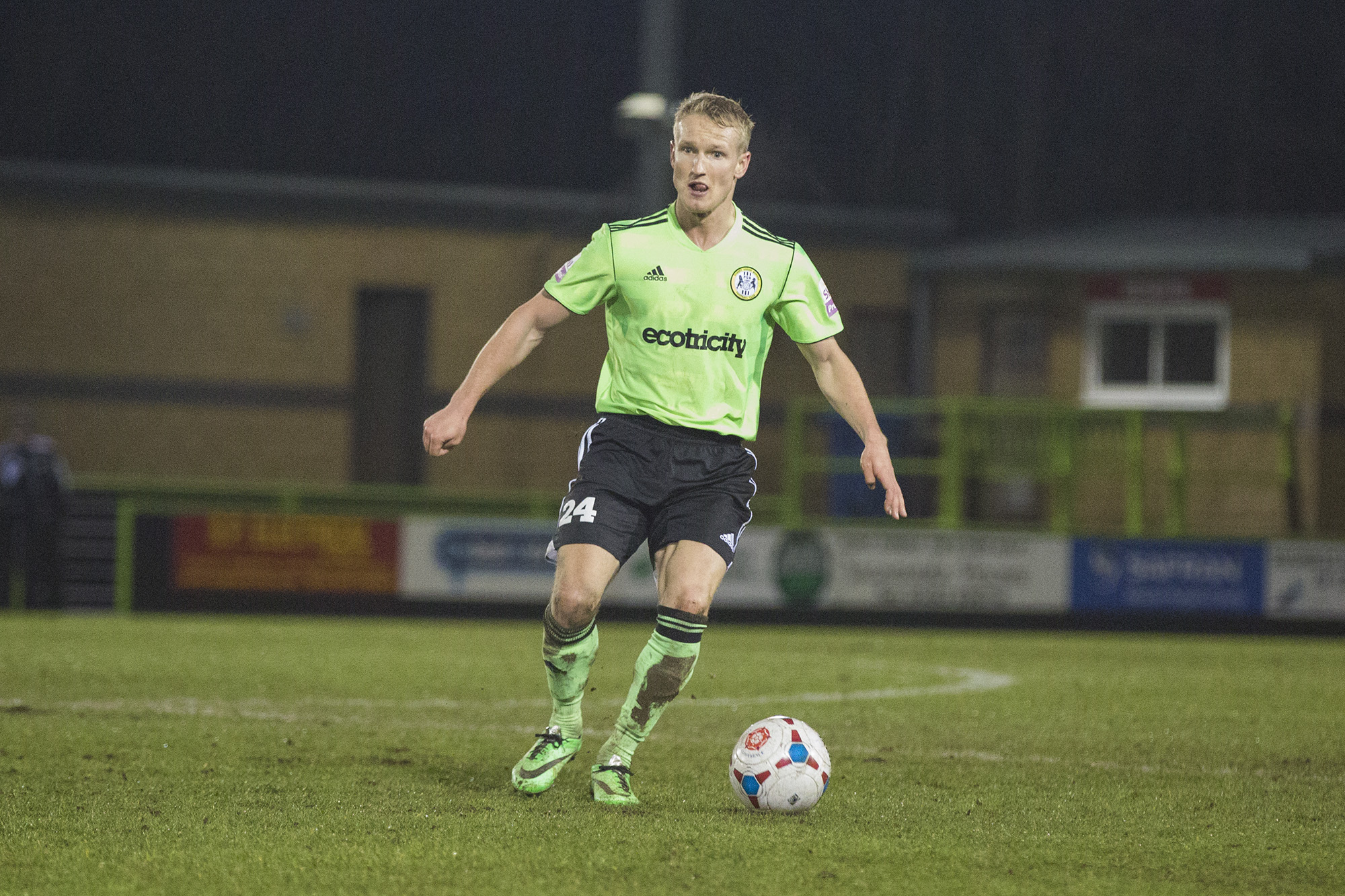Football: Forest Green suffer first defeat of 2014 against Barnet