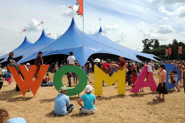 Last summer's WOMAD at Charlton Park
