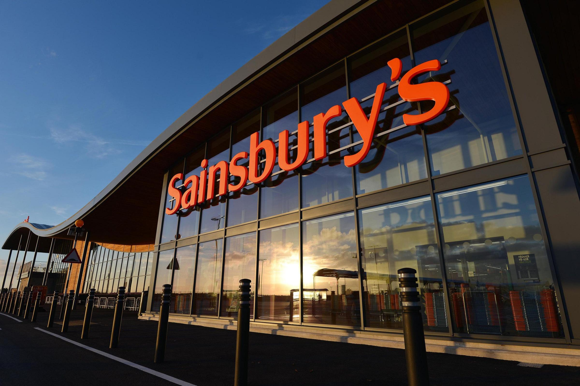 Shoplifter walked out of Sainsbury's with trolley