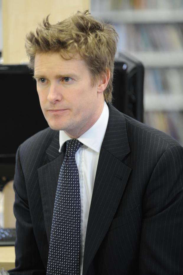 Stroud News and Journal: Shadow Education Secretary Tristram Hunt visited Archway School this afternoon