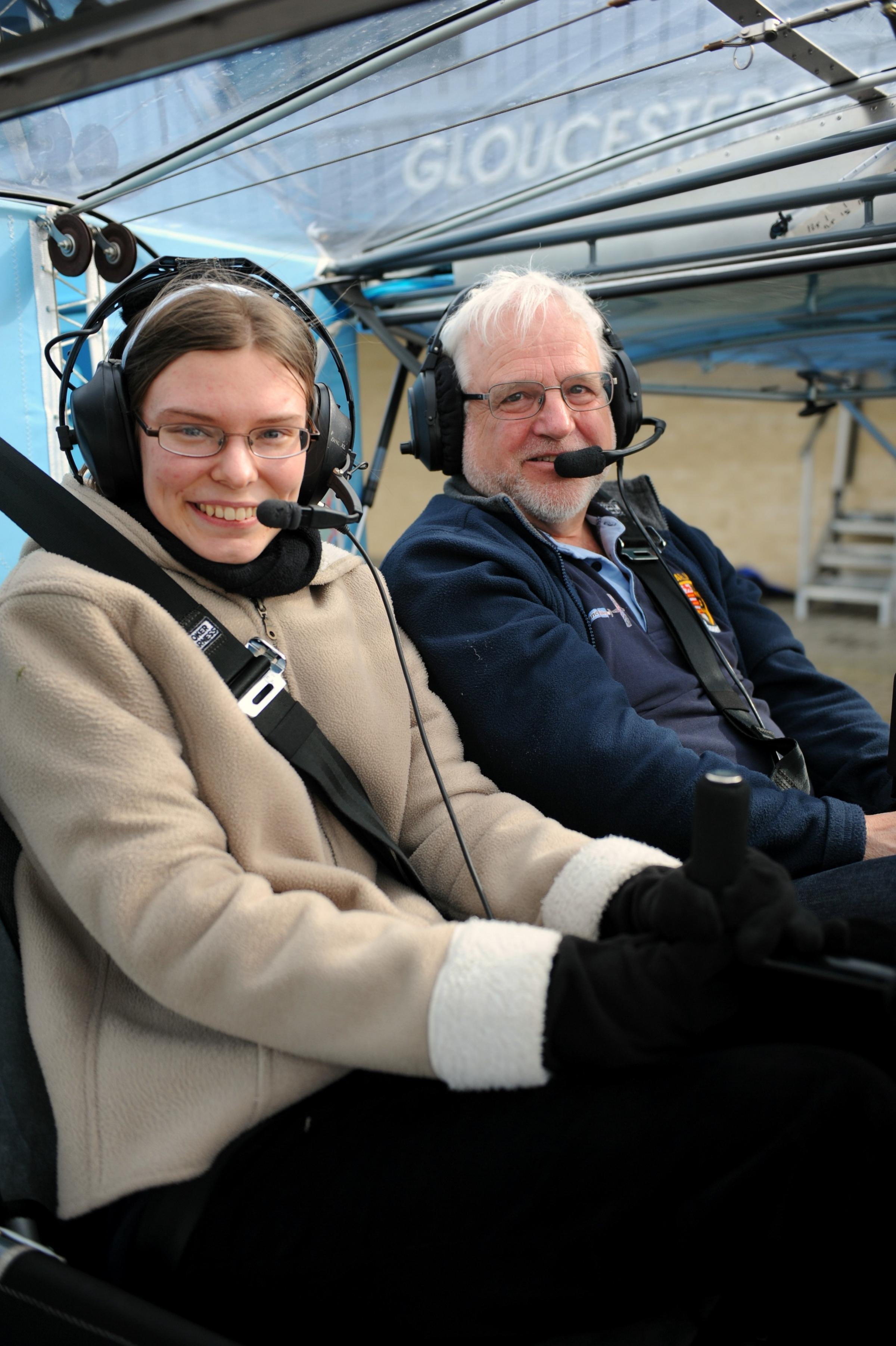 High-flying students take to the skies
