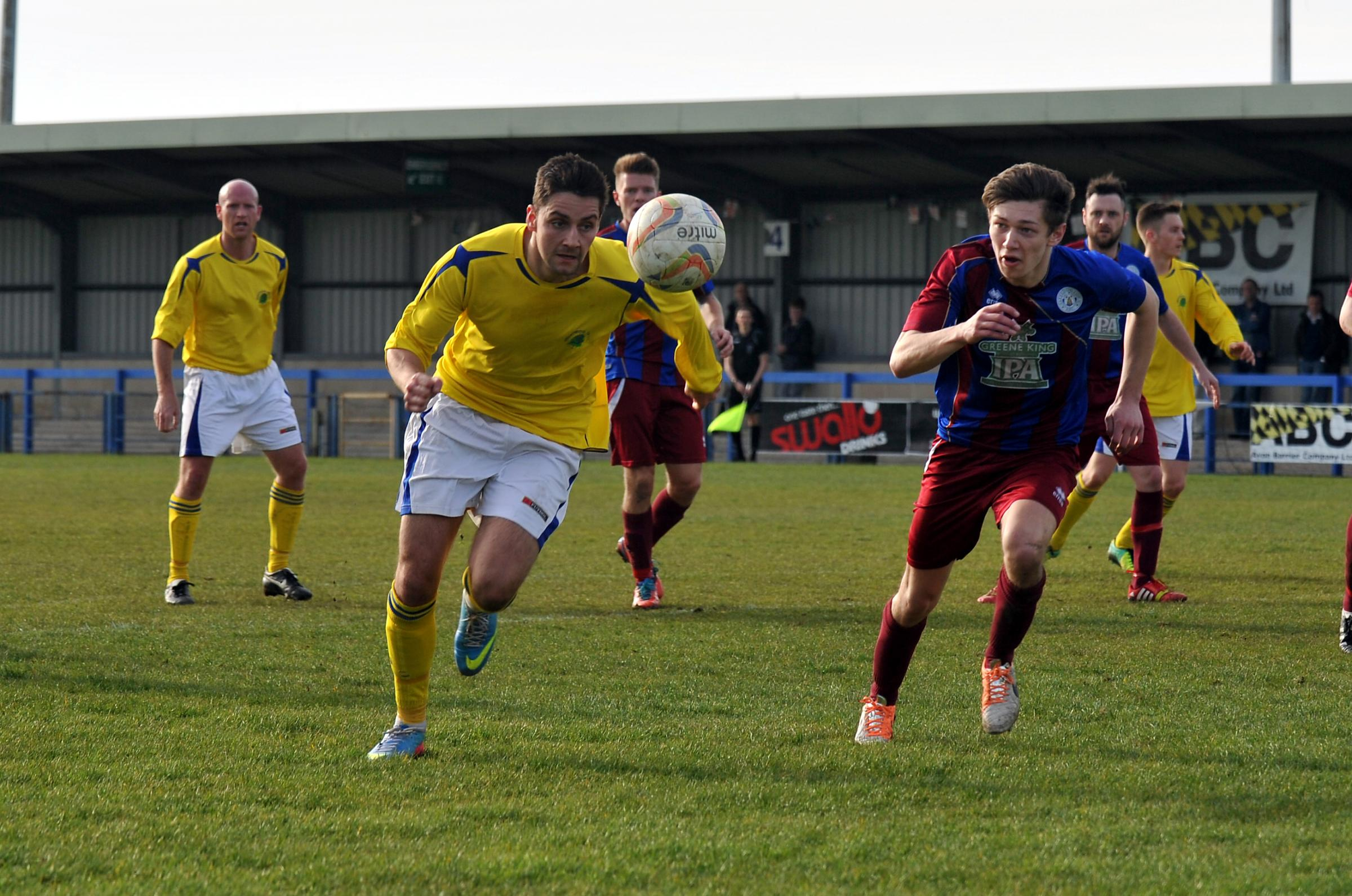 Duncan Culley was on target for Shortwood              Pic: Brian Rossiter