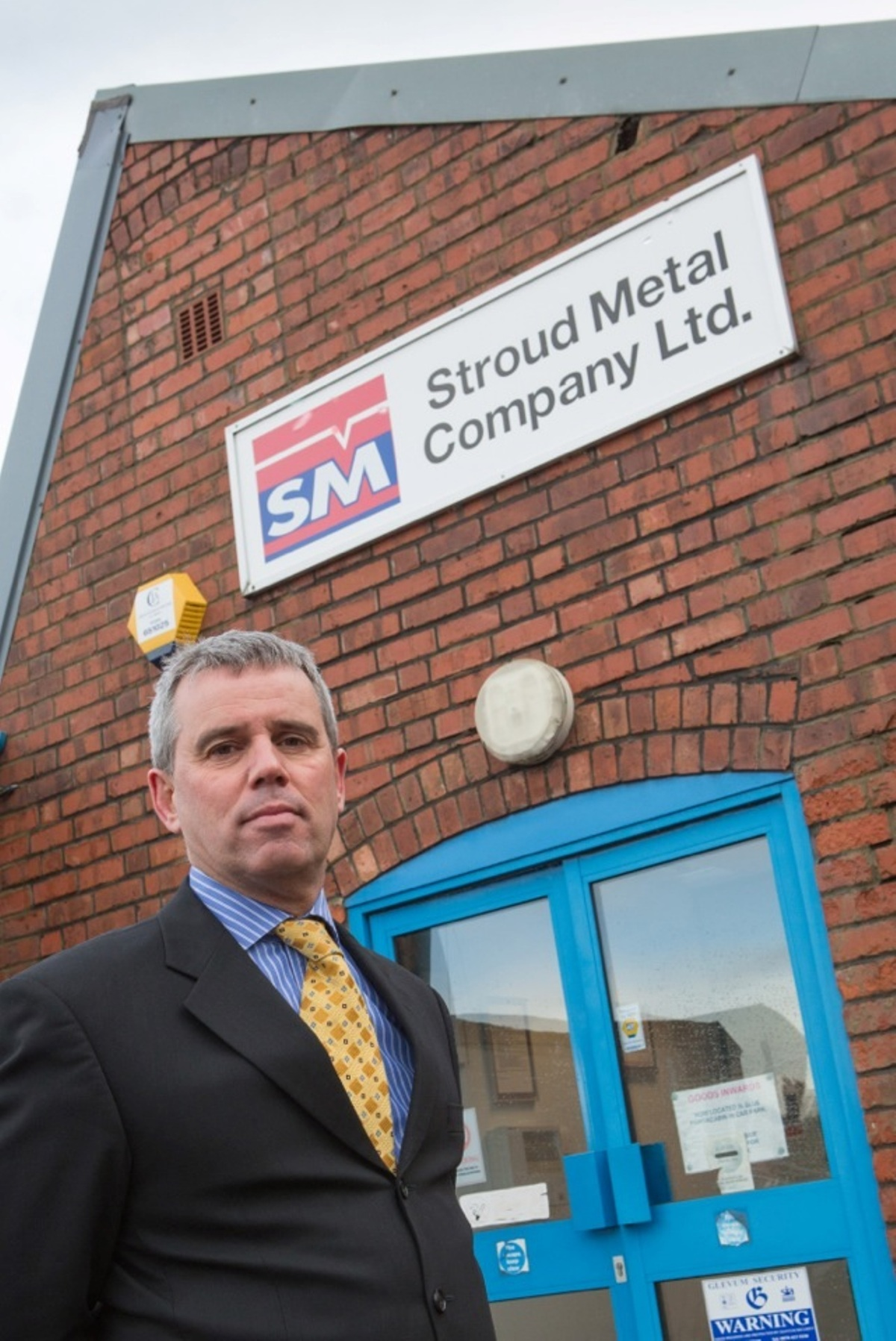 Stroud Metal Company's managing director Matthew Large