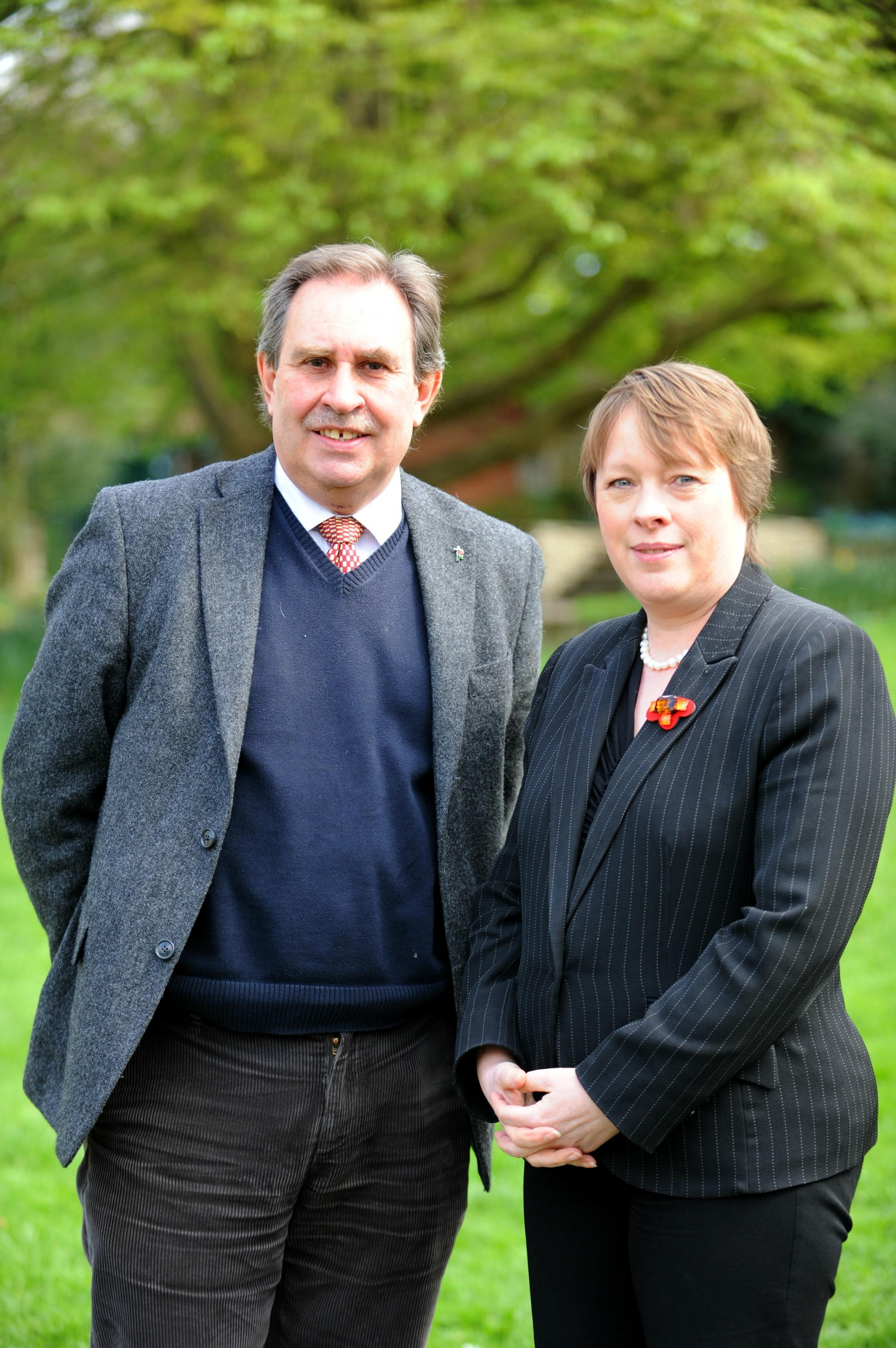 Shadow environment secretary Maria Eagle calls for stop to badger cull during visit to Stroud