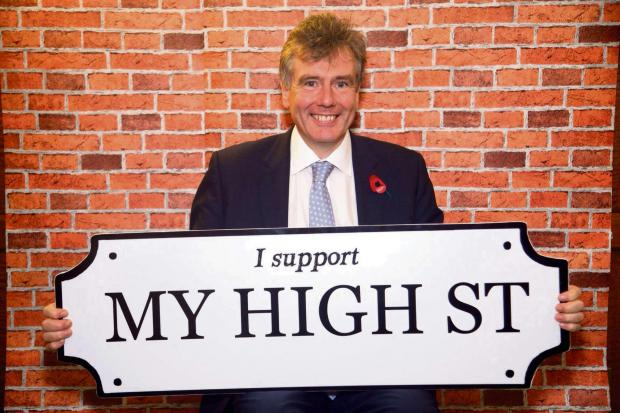 Neil Carmichael pledges his support for Stroud's high streets.