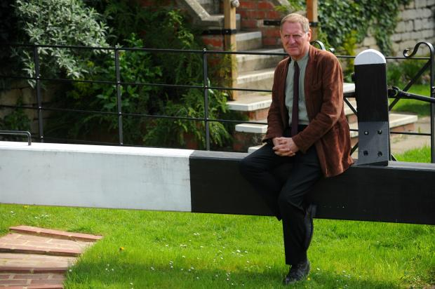 Sir Andrew Motion, national president of the Campaign to Protect Rural England and former poet laureate, visited the Cotswold Canal Trust visitor centre at Wallbridge Lock, in Stroud, on Thursday