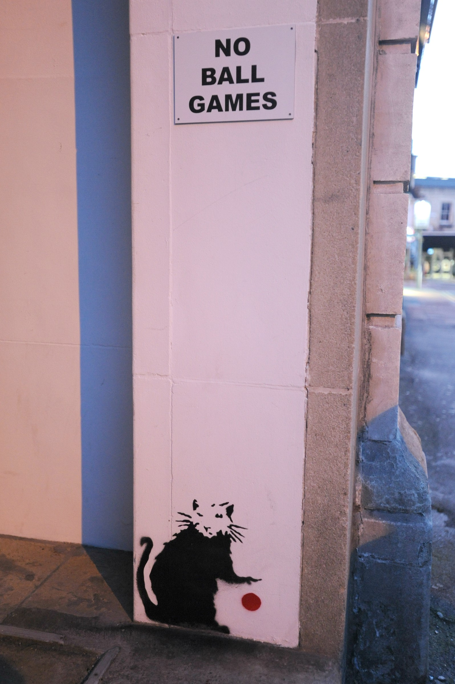 A Banksy spotted in Stroud?