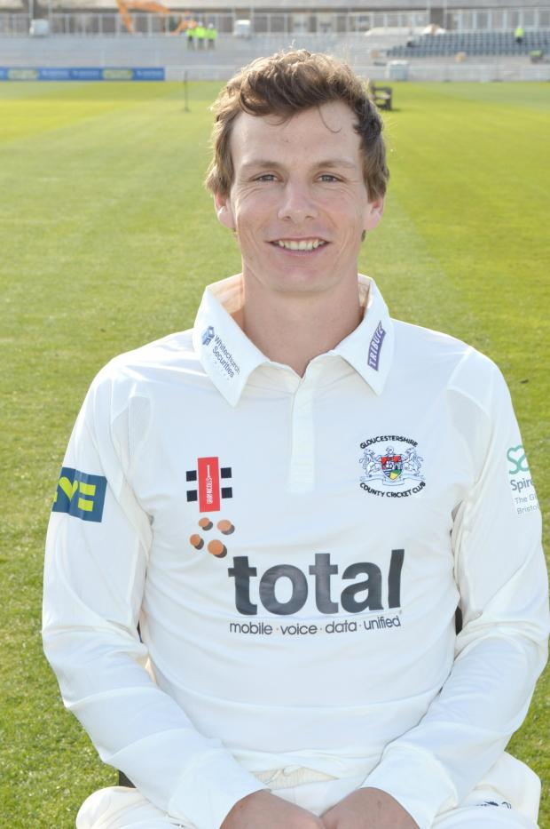 Stroud News and Journal: Will Gidman led Gloucestershire to safety