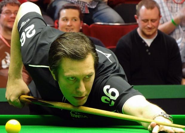Dominic Dale is within sight of the finishing post in his World Snooker Championship last-16