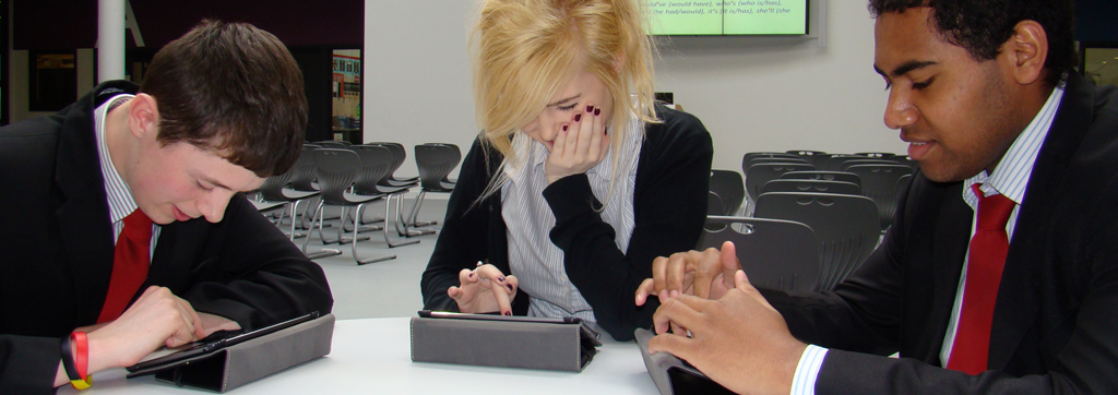 Sixth form students at Gloucester Academy receive iPads