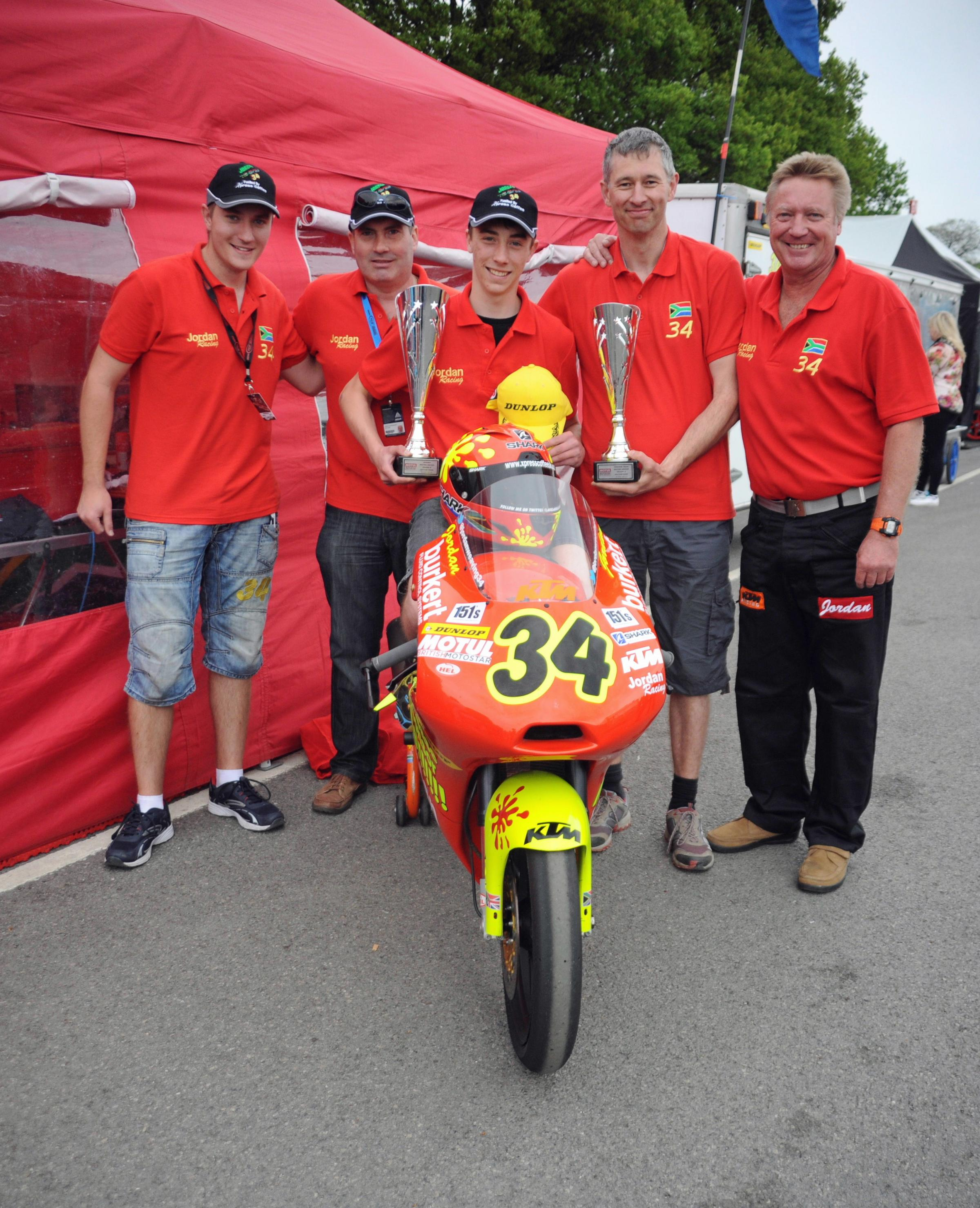 MOTORCYCLING:Weaving triumphs at Oulton Park