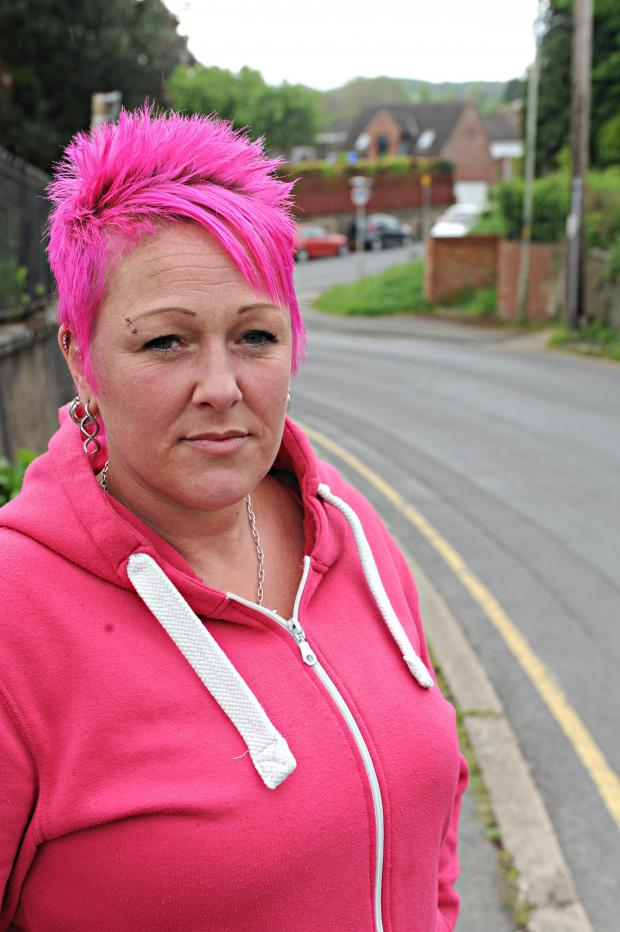 Stroud News and Journal: Kerry Volante, 43, is furious after a man offered a role in a porn film to her 15-year-old daughter Dana