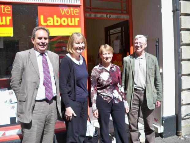 Labour's Clare Moody - who visited stroud last week - elected to Europe