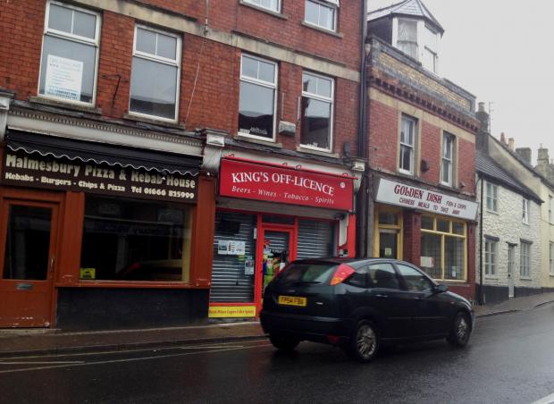 The off-licence in the Triangle that could becomed a third takeaway