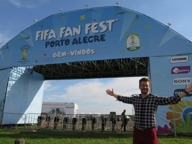 From Bussage to Brazil: Former SNJ reporter James Davis reports from the 2014 World Cup