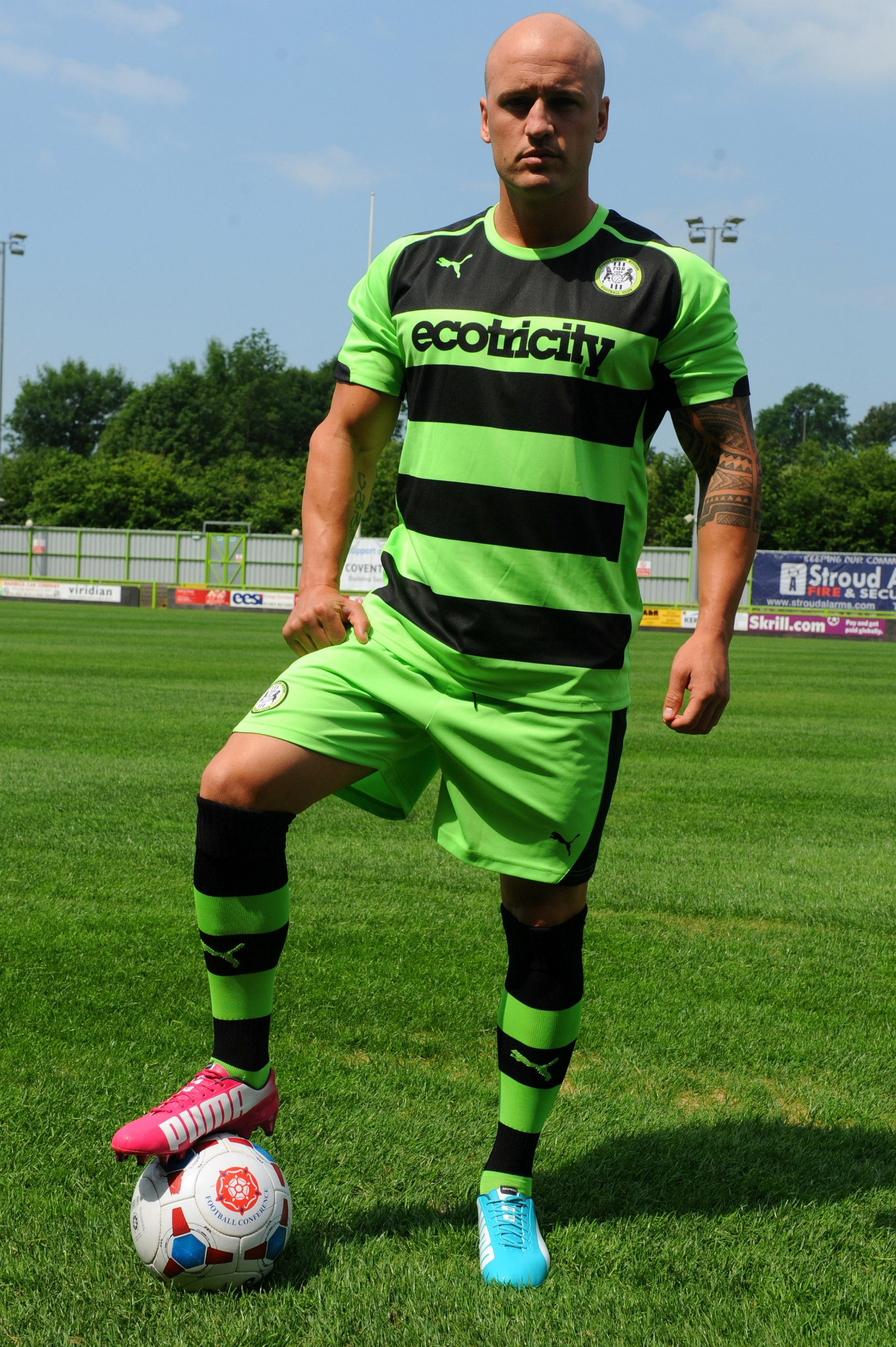 VIDEO: Forest Green unveil new kit