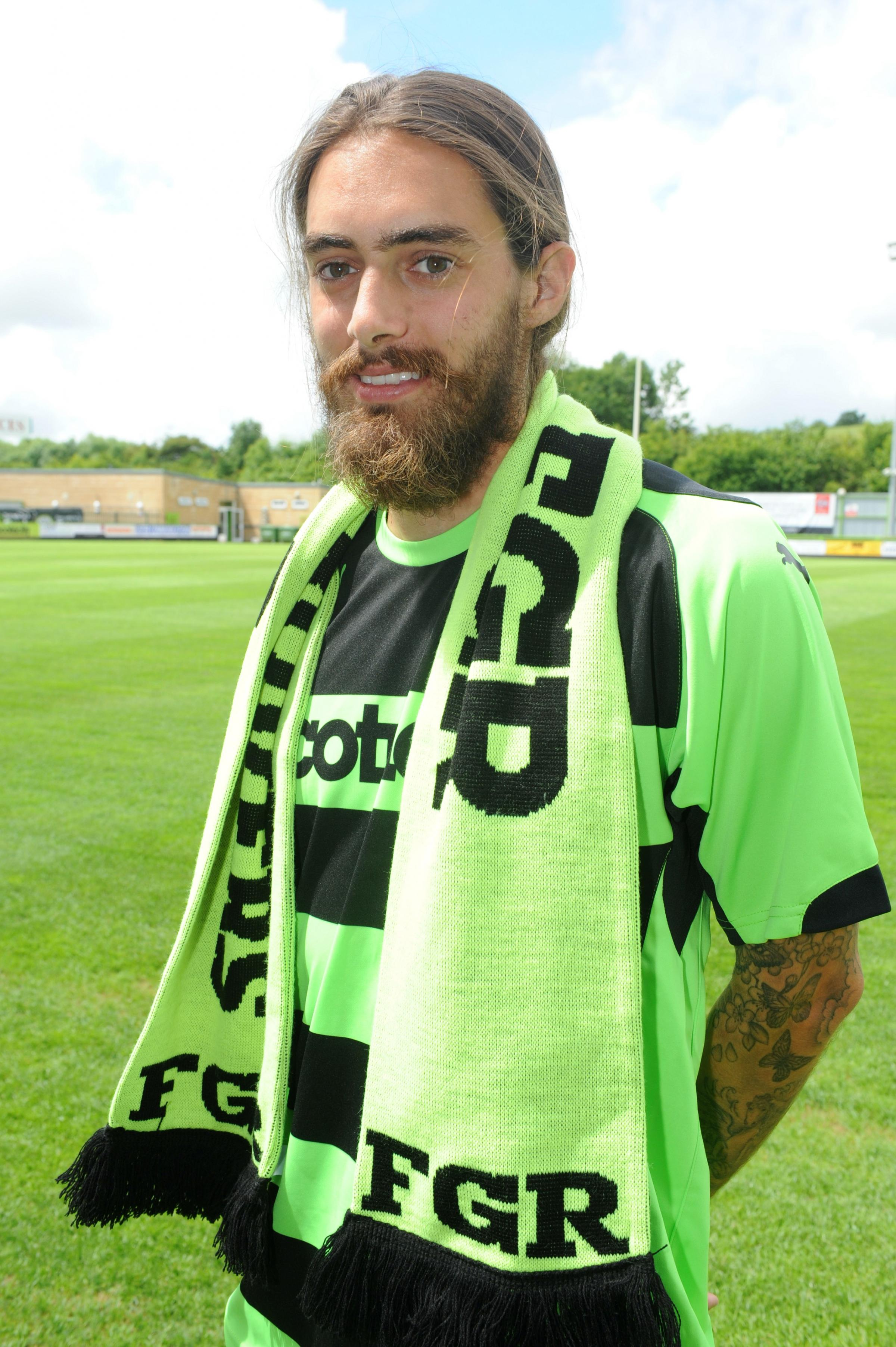 VIDEO: Forest Green snap-up Rob Sinclair on a two-year deal from Salisbury City