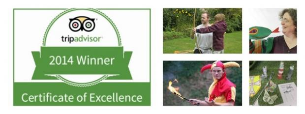 Summer activities announced at Berkeley Castle as popular attraction is awarded tripadvisor Certificate of Excellence for second year