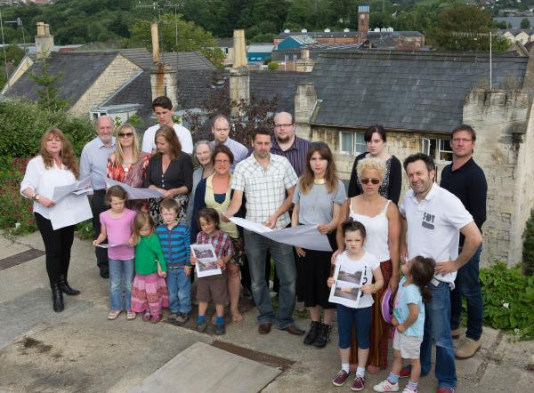 Stroud News and Journal: Fear that plans for four-storey care home in Stroud could lead to a loss of privacy and site for residents