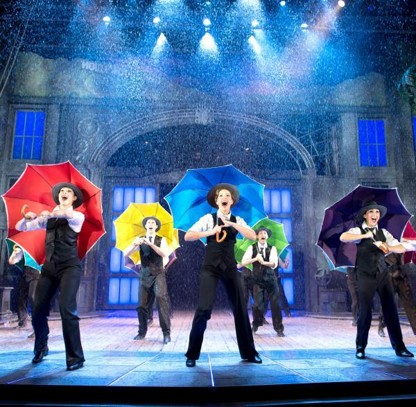 Singin' in the Rain review: Show gets standing ovation as they make it rain on stage