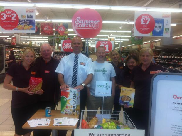 Stroud District Foodbank to receive a year's worth of support from Sainsbury's Stroud
