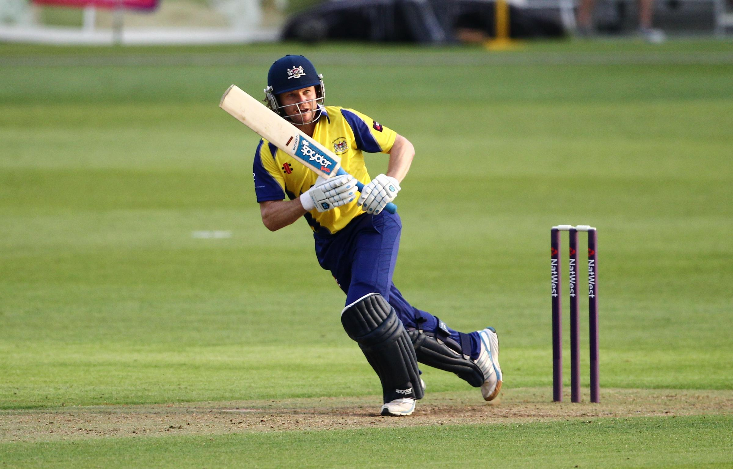 Gloucestershire's Hamish Marshall. Picture by Martin Bennett.