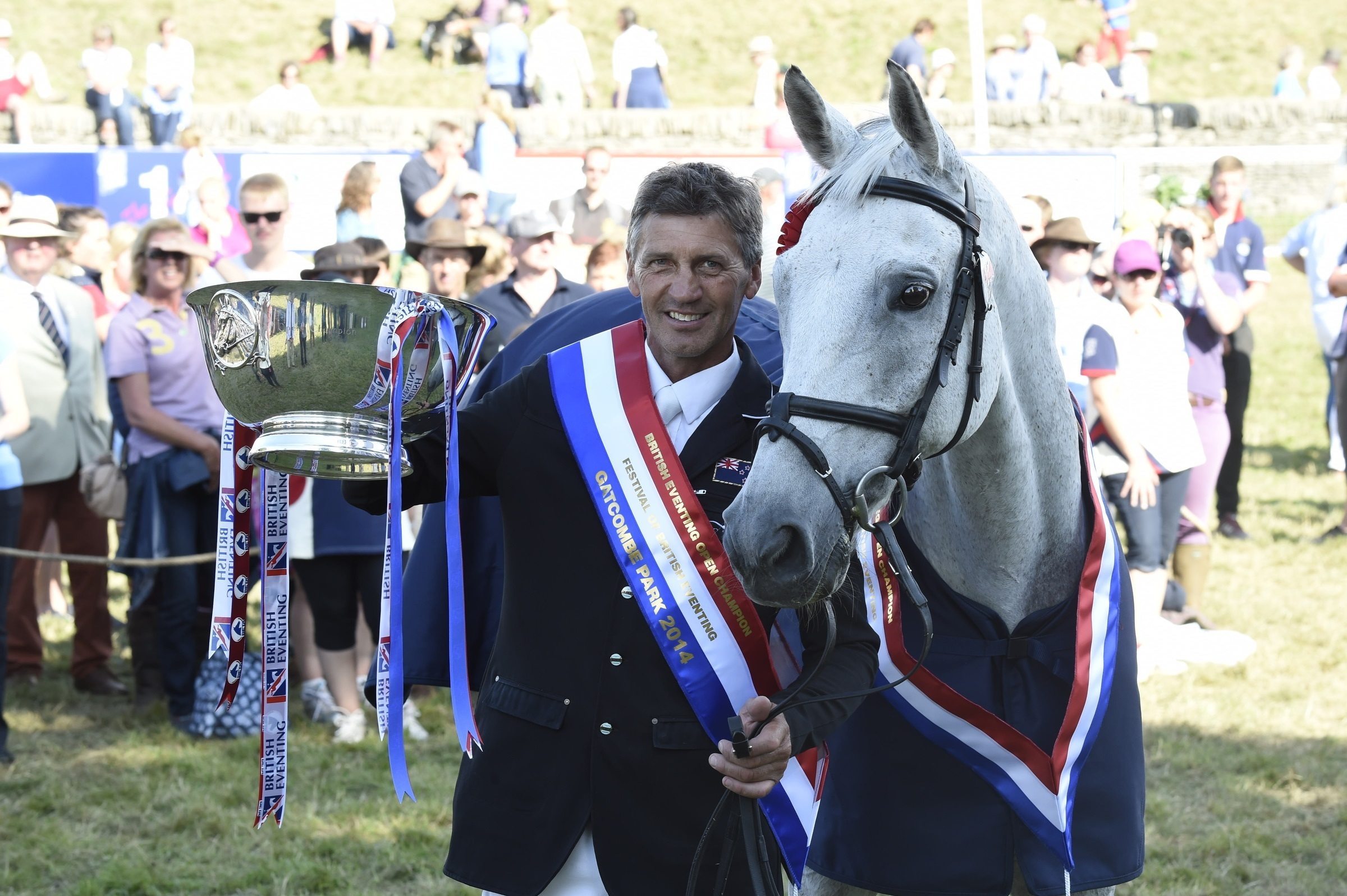 Equestrian: Nicholson cruises to victory at Gatcombe