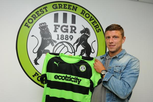 VIDEO: Danny Coles discusses his move to Forest Green from Exeter City