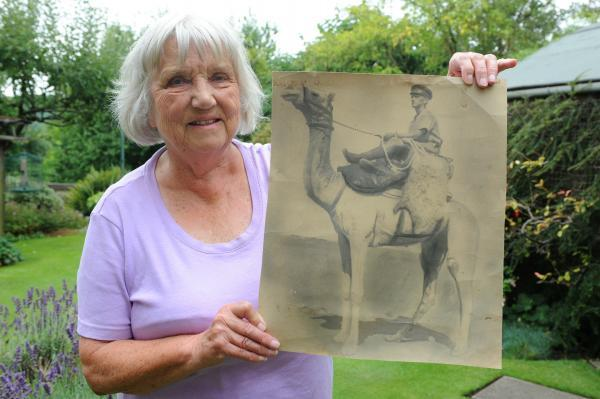 Chalford Hill resident shares father's war story