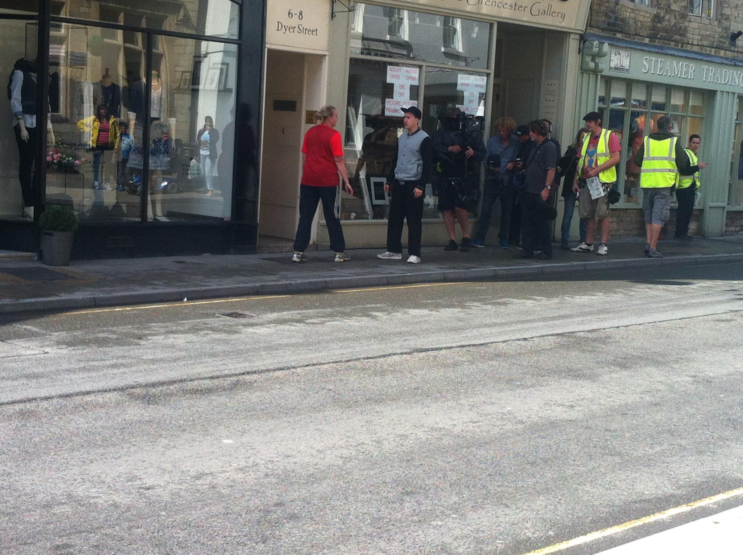 New sitcom being filmed in Cirencester