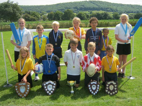 Sporty pupils show their class in Stroud Area Competitions