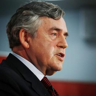 Former prime minister Gordon Brown is calling for a No vote