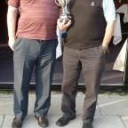Stroud News and Journal: Dave Bolland (left) and Andy Walker Amberey Guild Golf Society (11571762)