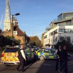 Stroud News and Journal: Police at the scene where a teenager was stabbed to death in south London
