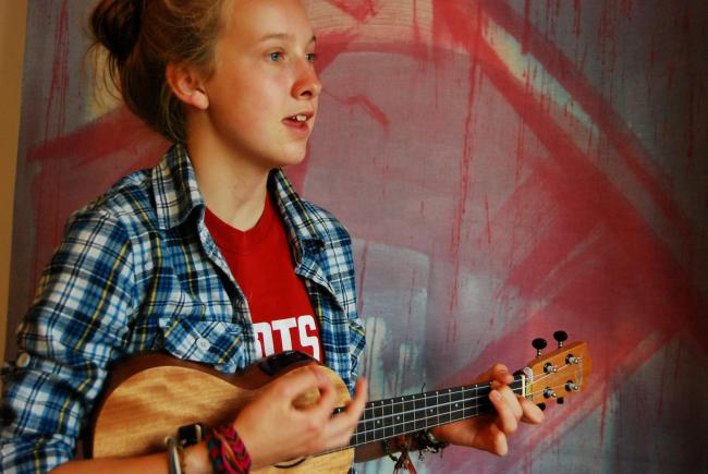 Sixteen-year-old Sophronie Edwards to play at Wychwood Festival this weekend