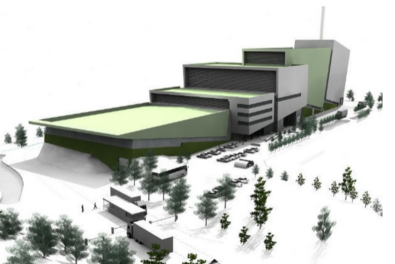 Plans for the Javelin Park incinerator near Haresfield