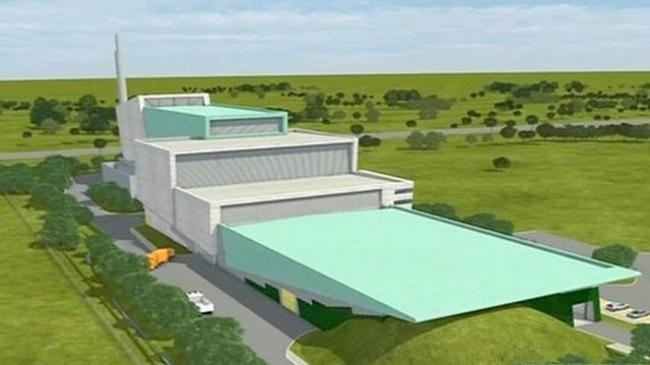 The Javelin Park incinerator is being built near Haresfield and is due to be operational by 2019
