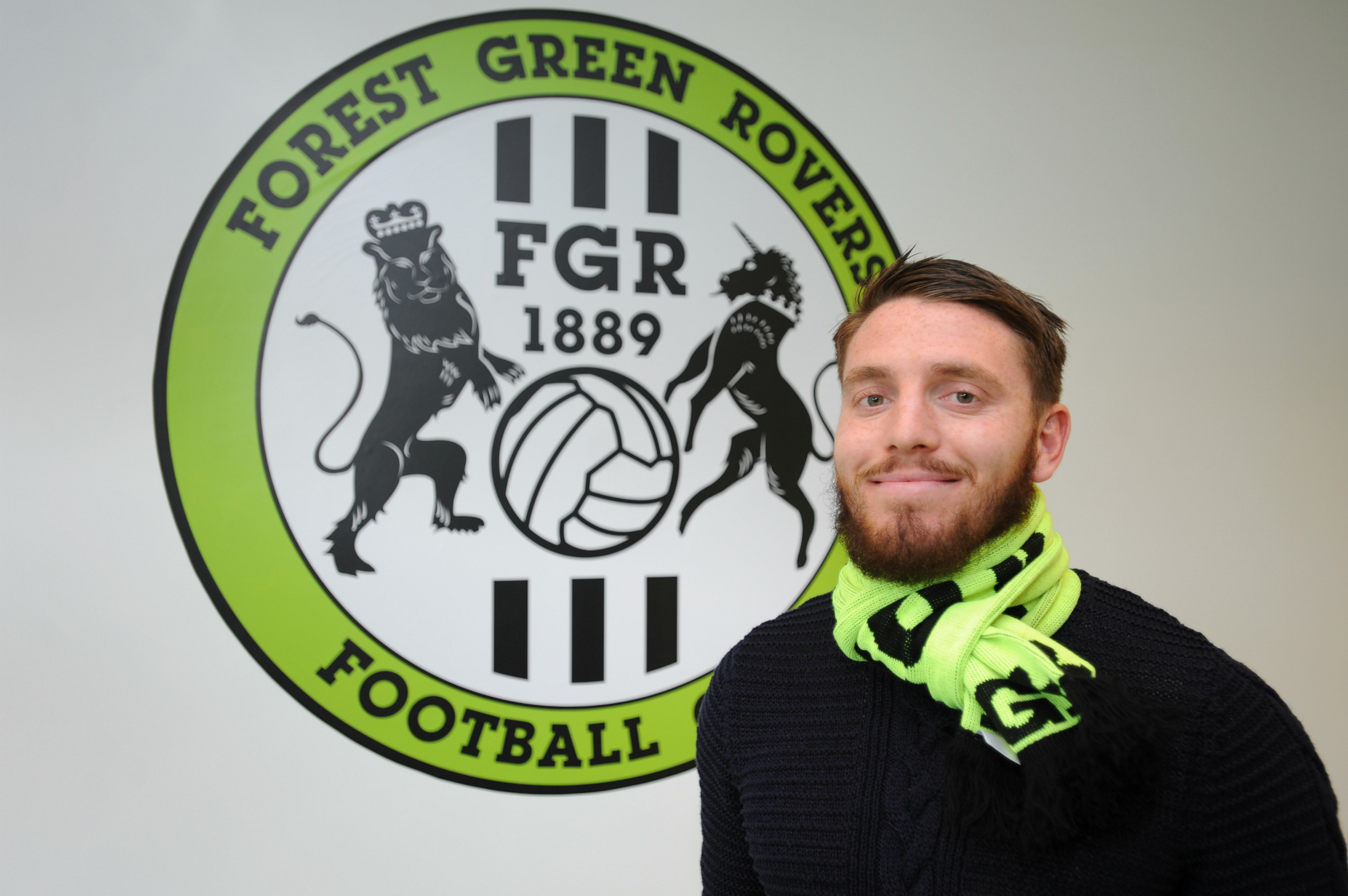 FOREST GREEN: Sam Wedgbury is set for nine-months on the sidelines after scans confirm anterior cruciate ligament injury