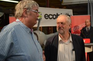 Stroud News and Journal: Labour leader Jeremy Corbyn launches national Workplace 2020 initiative in Stroud