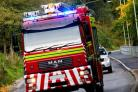 Fire crews called to four burnt out vehicles in Newport