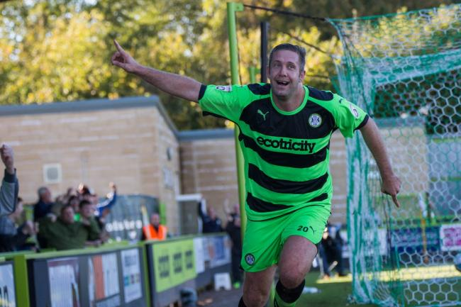 Former Forest Green striker Jon Parkin announces his retirement