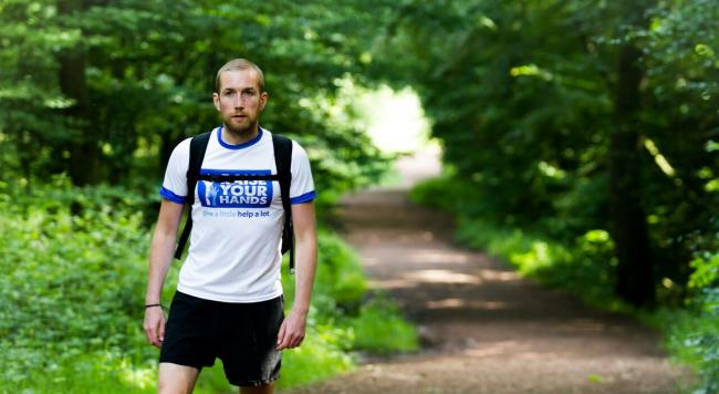 Campaigner running 27 marathons in 26 days to pass through Stroud on epic challenge