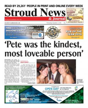 Stroud News and Journal: This week's front page – 'A beautiful free spirit': Tributes pour in for Stroud artist Pete…