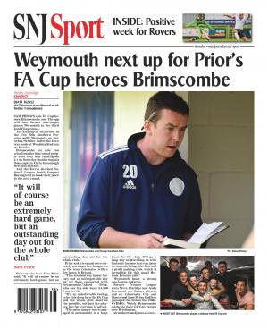 Stroud News and Journal: FA CUP: Brimscombe travel to Southern Premier outfit Weymouth in third qualifying