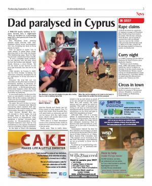 Stroud News and Journal: Villagers in Avening want to bring Ben Wernham home after an accident in a swimming pool in Cyprus…