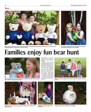 Stroud News and Journal: PICTURES: Families go on Bussage Bear Hunt to raise thousands of pounds for school