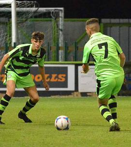 6f74315486f311 TWO Oxford City goals in eight second-half minutes ended Forest Green s FA  Youth Cup