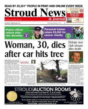 Stroud News and Journal: This week's front page